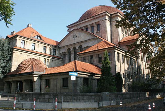 Westendsynagoge in der Freiherr-vom-Stein-Straße in Frankfurt am Main