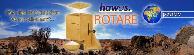 Getreidemühle ROTARE von hawos