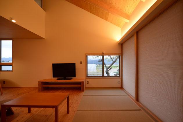 島立の家Ⅱ 松本市 建築家 住宅設計 信州松本の家 引渡し 松本市・安曇野市の建築設計事務所