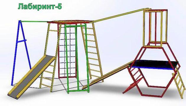 ДСК Лабиринт 5 детская площадка