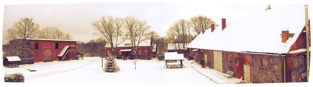 Hof Luisenau im Winter