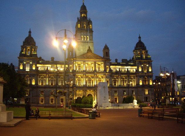 Bâtiment du centre ville de Glasgow