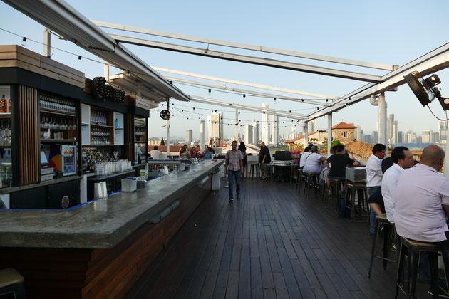 Tantalo Bar Rooftop Drinks Panama City Party