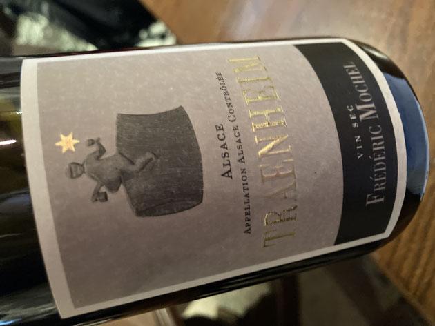 Les vignerons de Traenheim ont choisi le Fasselritter comme emblème de leurs vins d'appellation communale