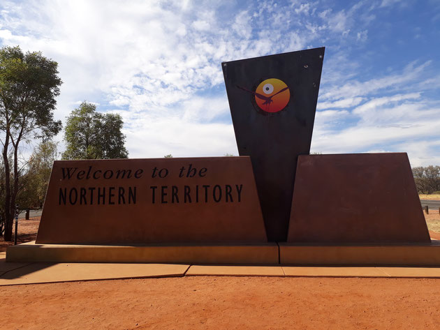 Border South Australia Northern Territory