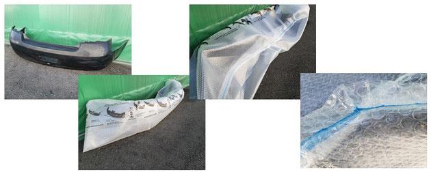 自動車のバンパー専用袋の例
