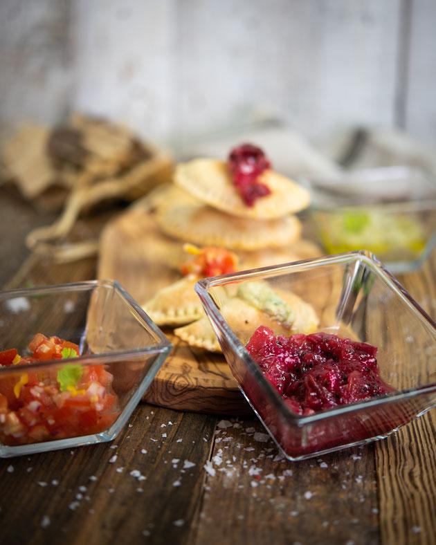 Dips für argentinische Empanadas