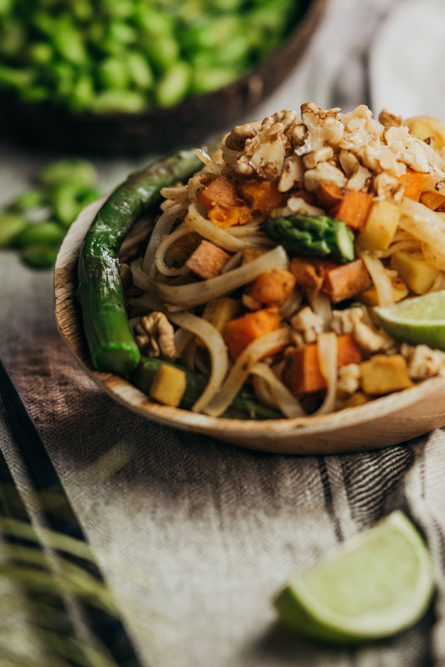 Pad Thai Rezept vegan
