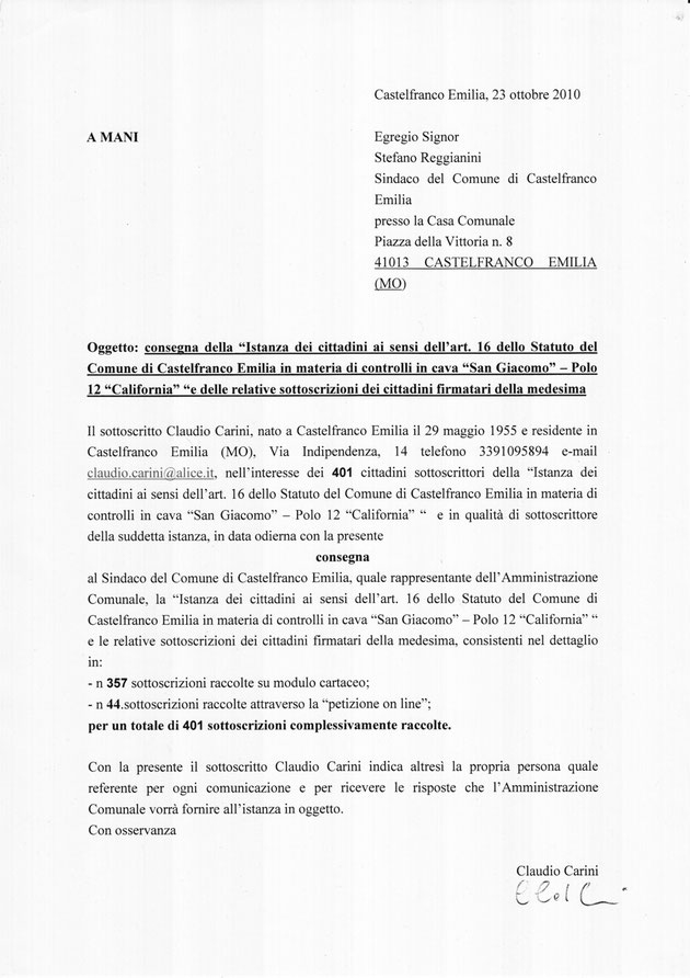 copia del documento originale