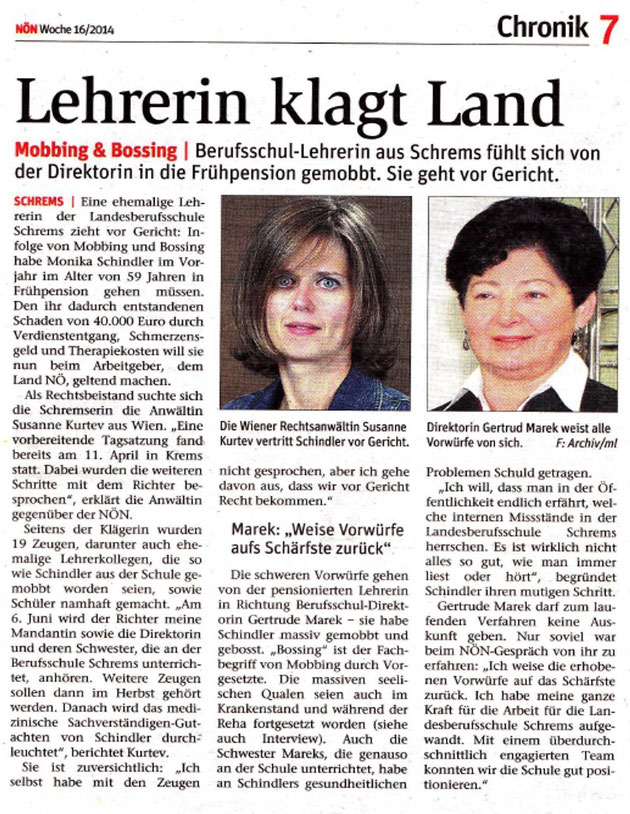 Quelle: NÖN Woche 16/2014