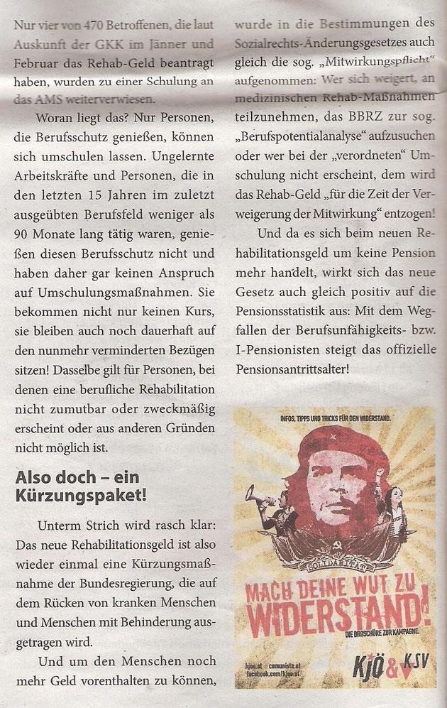 Volksstimme, 7. Ausgabe Sommer 2014