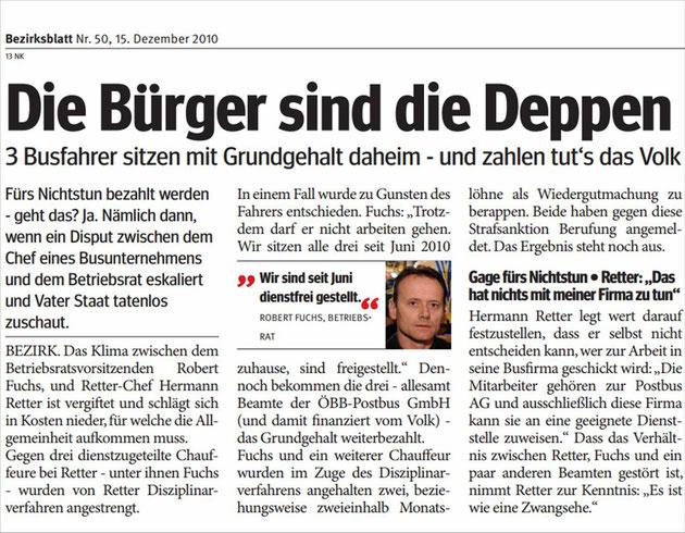 Bezirksblatt Nr. 50 v. 15.12.2010