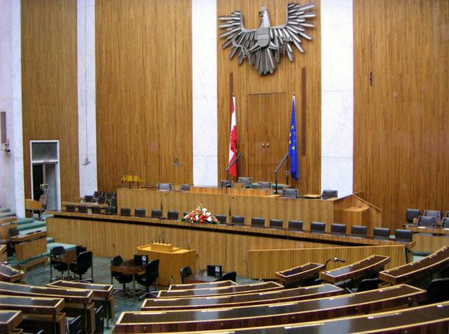 Fotoquelle: https://de.wikipedia.org/wiki/%C3%96sterreichisches_Parlament