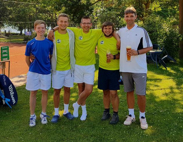 Tom-Niklas Hamann, Dennis Schulz , Oliver Jacob, Christian Strohbach, Markus Janner