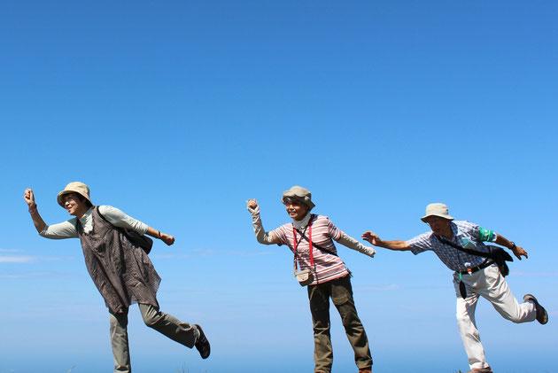 空中散歩 尾神岳にて