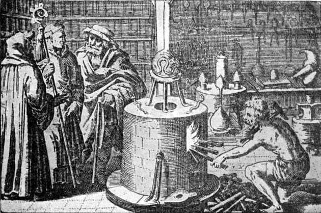 Alchemisten im Labor