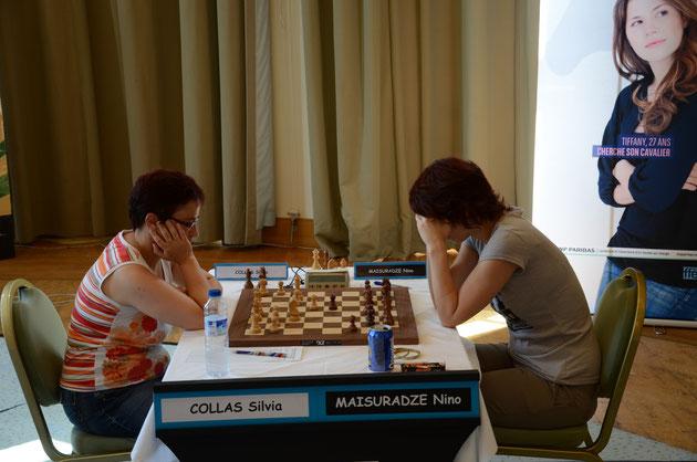 Sylvia Collas et Nino Maisuradze