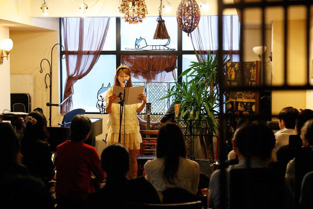 詩と音楽のオープンマイク 撮影:竹沢佳紀