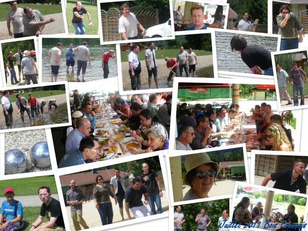 Sortie groupes loisir 22 juillet 2011