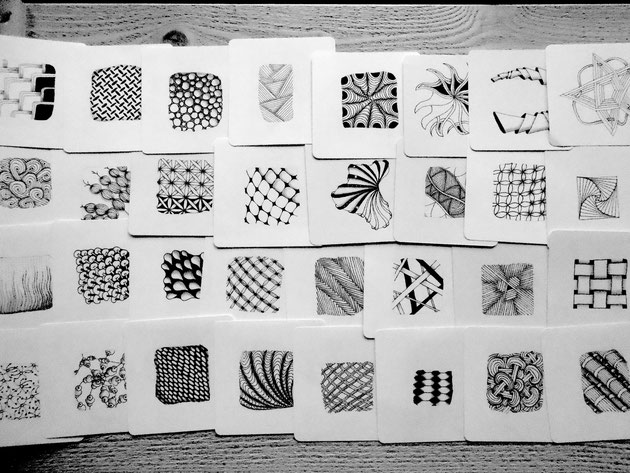 Zentangle Mustersammlung