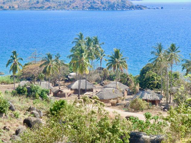 Dorf am Malawisee, Tansania
