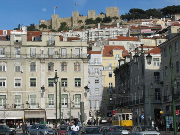 Baixa et château Sao Jorge