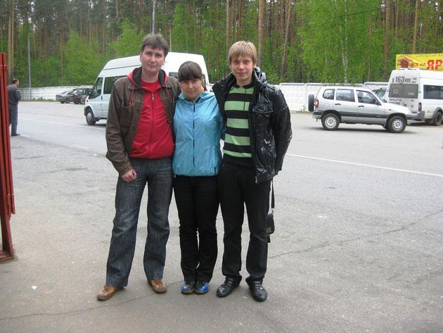 Поездка 15 мая 2011 года в Звёздный городок