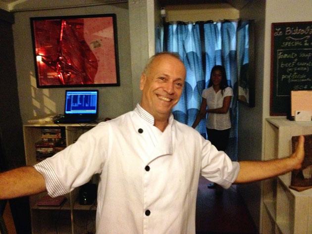 Michel Herbert, chef de cuisine