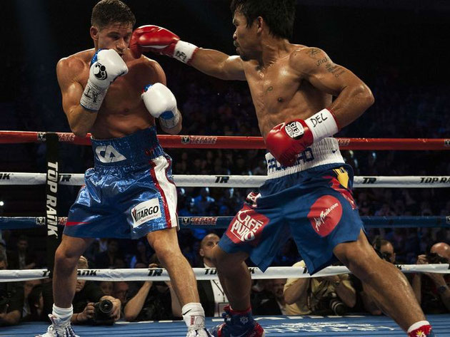 Manny Pacquiao defeats Chris Algieri: Round-by-round recap