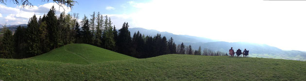 Grillparz Richung Kremsmauer, Oberösterreich