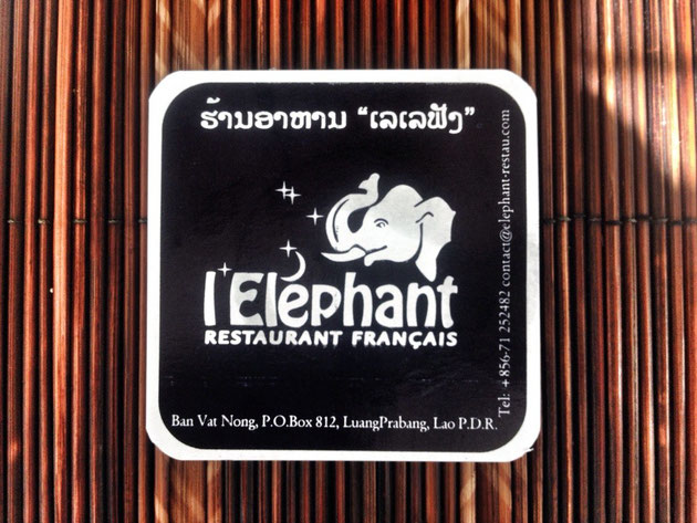 l'Elephant, Luang Prabang