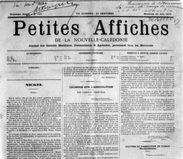 """LES PETITES AFFICHES ET LE """"BON À TIRER"""" DE L'ADMINISTRATION (21 juin 1876)"""