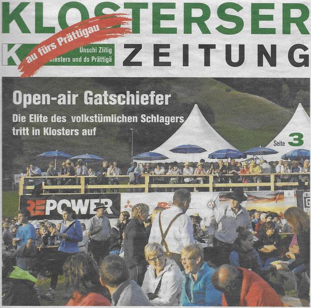 Klosterser Zeitung 15.07.2016