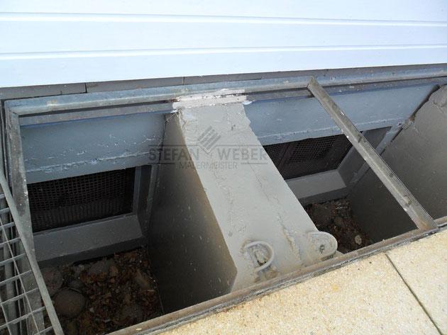 Neue Betonschutzbeschichtung für die Kellerschächte