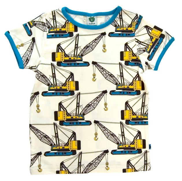 Smafolk Retro T-Shirt Kräne