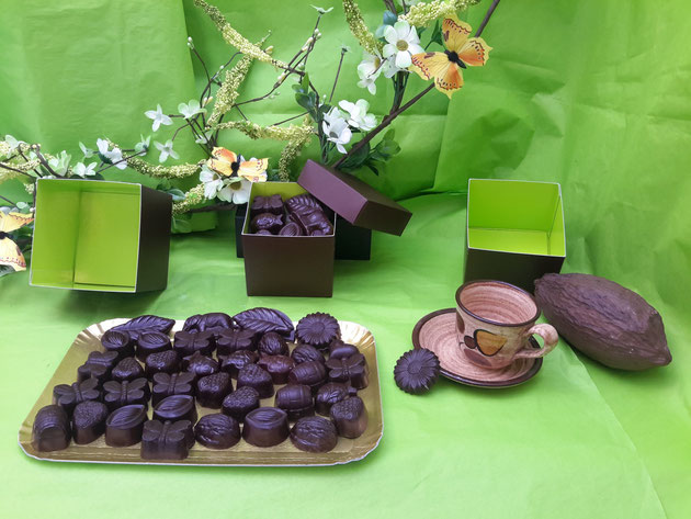 Chocolats bio sans vanille