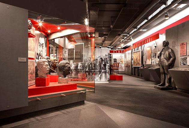 Tentoonstelling in het Zeitgeschichtlichesmuseum Leipzig