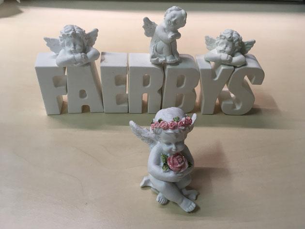 Silikonform - Engel mit Blütenkranz