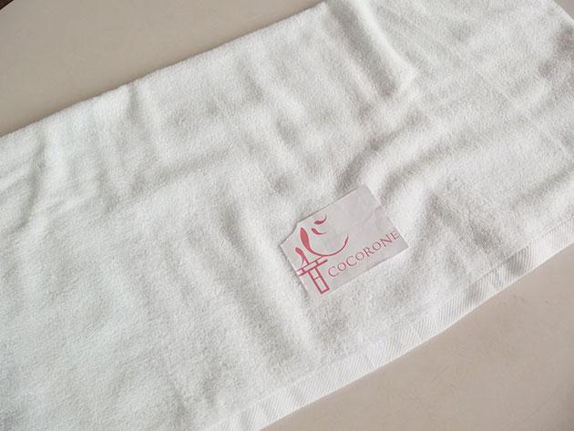 竹タオル 業務用 刺繍型合わせ