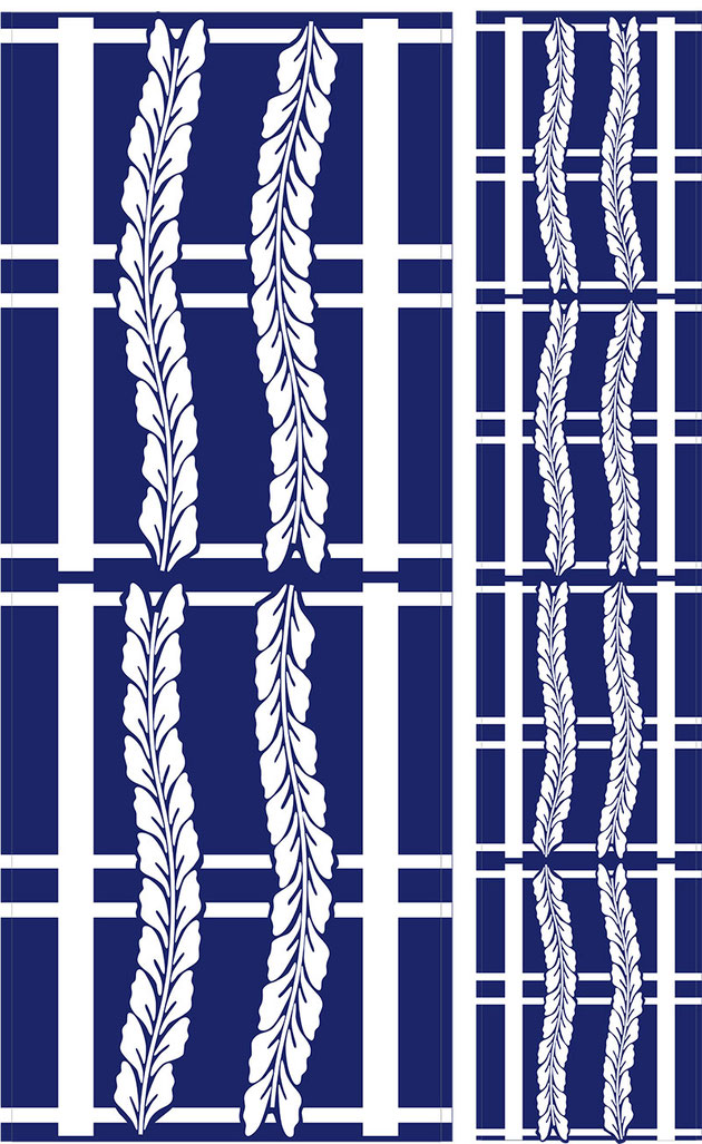 藤間流 浴衣デザイン