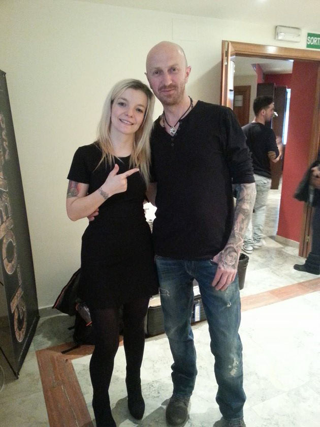 Pia Vegas und Andy Engel Tattoo artists