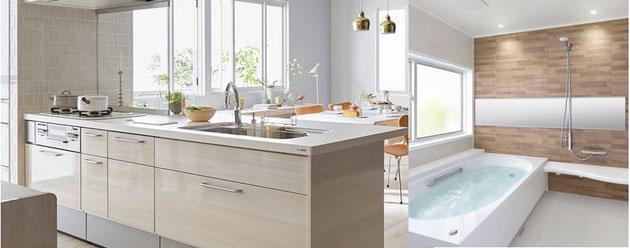 キッチン・お風呂・トイレ・洗面など水回りのリフォーム