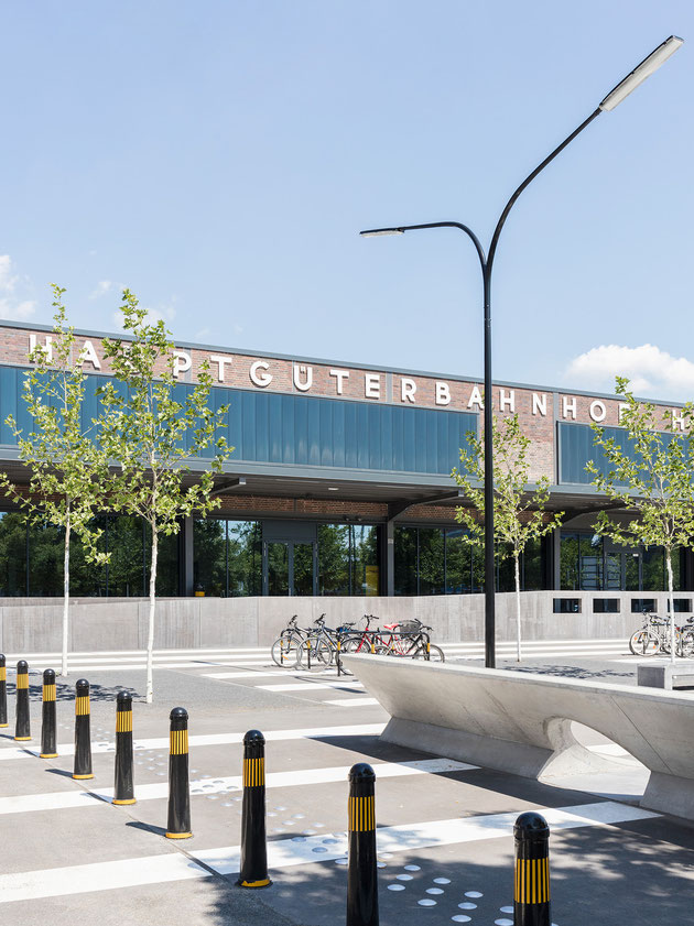 Architekturfotografie, Thomas Nutt, Hauptgüterbahnhof, Hannover, HGBF, Aurelis