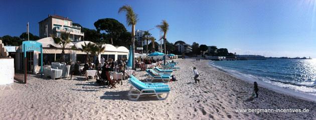 Strand von Juan-les-Pins