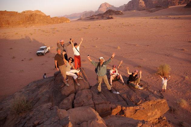 "Sonnenuntergang im ""Wadi Rum"""