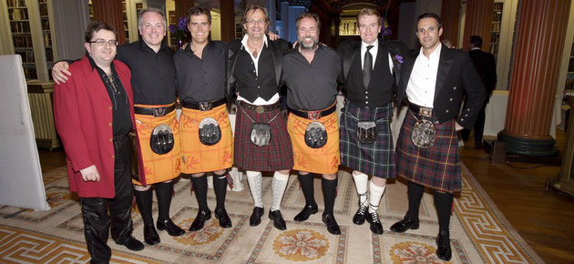 "Scottisch Kilt Party with the ""CALEDON´S"" - Edinburgh"
