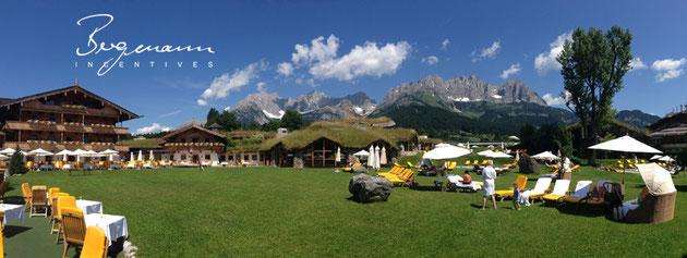 "Alpen-Panorama ""Wilder Kaiser"""
