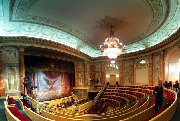 Theatersaal - für bis zu 250 Personen