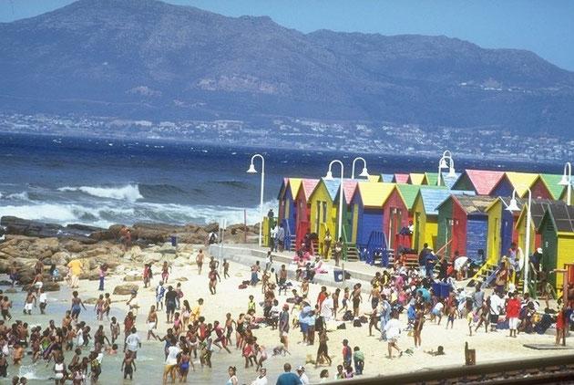 Kapstadt - Strand von Muizenberg