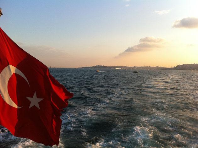 Istanbul-Bosporus - die Meerenge zwischen Europa & Asien